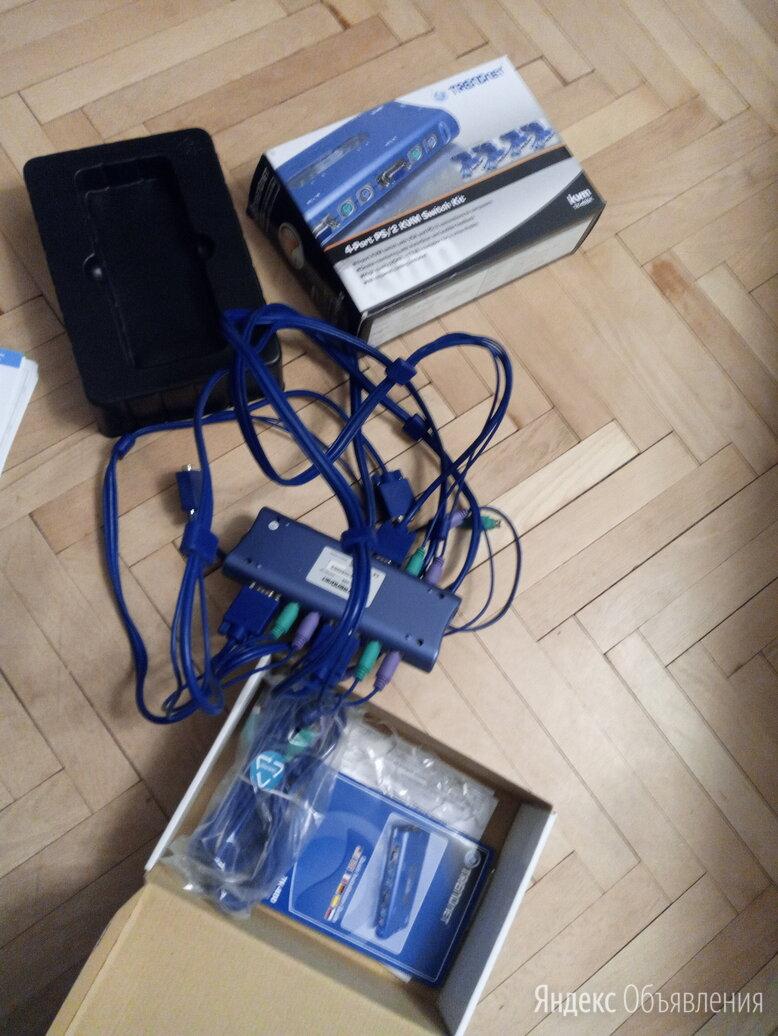 Переключатель KVM Trendnet TK-400K по цене 1000₽ - Аксессуары для серверов, фото 0