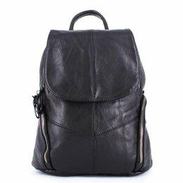 Рюкзаки - Рюкзак Натуральная кожа. Черный, 0
