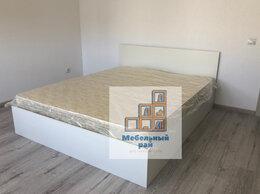 Кровати - Кровать двуспальная Амелина с матрасом, 0