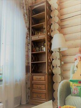 Стеллажи и этажерки - Стеллаж книжный с выдвижными ящиками, 0
