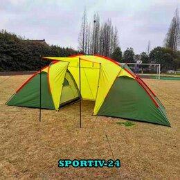 Палатки - 6-ти  местная, двух-комнатная палатка, 0