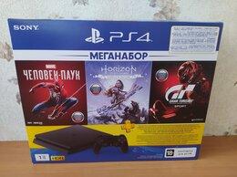 Игровые приставки - Новая Sony PlayStation4 Slim 1TB (CUH-2208B), 0