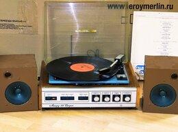 Проигрыватели виниловых дисков - Комплект для прослушивания пластинок Аккорд, 0