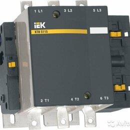 Пускатели, контакторы и аксессуары - Контактор Iek KKT50-225-230-10, 0