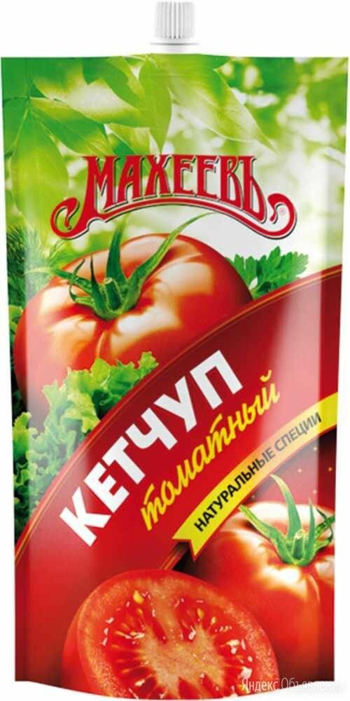 Кетчуп Махеев томатный 500 г по цене 85₽ - Продукты, фото 0