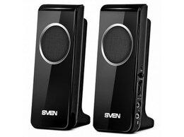 Акустические системы - Акустическая система 2.0 SVEN 314 4 Вт USB чёрный, 0