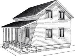 Готовые строения - Строительство и проектирование дачного дома, 0