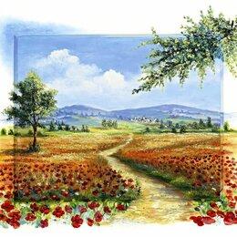 """Картины, постеры, гобелены, панно - Репродукция картины """"Маковое поле"""", 0"""