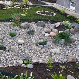 Садовые дорожки и покрытия - гравийный щебень, 0