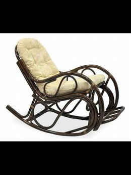 Плетеная мебель - Кресло качалка из ротанга, 0
