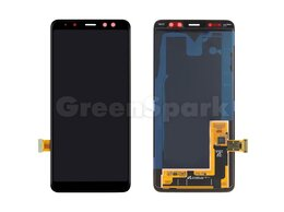 Дисплеи и тачскрины - Дисплей для Samsung A530F Galaxy A8 (2018) +…, 0