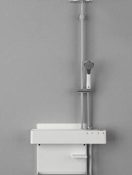 Души и душевые кабины - Душевая панель Cebien Garo UP, 0