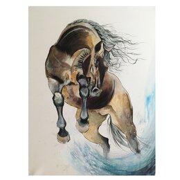 Картины, постеры, гобелены, панно - Картина «Лошадь», 0