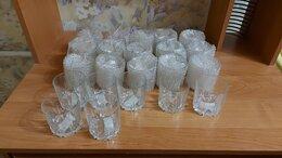Бокалы и стаканы - Новые стеклянные стаканы 200 мм для компота и…, 0