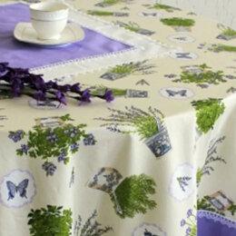 Скатерти и салфетки - Скатерть на круглый стол Лаванда, 0