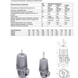 Производственно-техническое оборудование - Гидротолкатели ТЭ-16,ТЭ-25,ТЭ-30, ТЭ-50, ТЭ-80 в наличии, 0