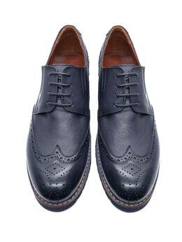 Туфли - Броги синие, 0