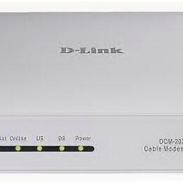 Прочее сетевое оборудование - D-Link DCM-202/RU/C интернет модем, 0