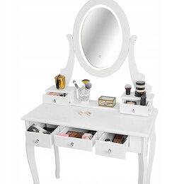 Столы и столики - Туалетный столик, зеркало с подсветкой, 0