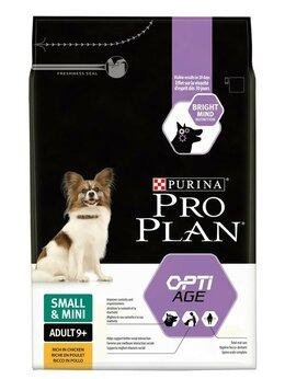 Товары для сельскохозяйственных животных - Корм Pro Plan Adult 9+ Small&Mini Optiage для соба, 0