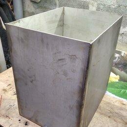 Корзины, коробки и контейнеры - Бак из нержавейки 3мм (60л), 0