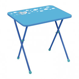 Столы и столики - Стол детский складной Ника Алина2, голубой, 0