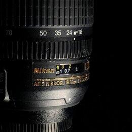 Объективы - Nikon 18-70 mm f3.5-4.5G ED-IF AF-S // 932 , 0