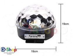 Портативная акустика - Bluetooth RGB Диско-Шар Колонка, 0