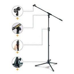 Аксессуары для микрофонов - Hercules MS531B стойка для микрофона (журавль), 0