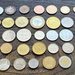 """Монеты - Иностранные монеты """"Экзотика"""" 33 шт, 0"""