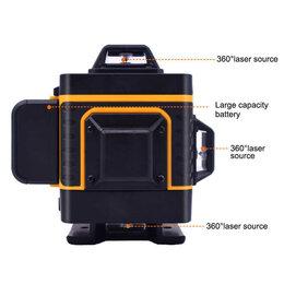 Измерительные инструменты и приборы - Лазерный уровень Pracmanu 4D, 0