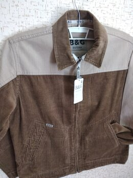 Куртки - Новая мужская ветровка из хб вельвета 30 р.Турция, 0