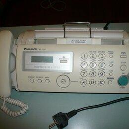 Факсы - Факс Panasonic KX-FP207, 0