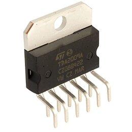 Оборудование для звукозаписывающих студий - TDA2009A, Двухканальный HI-FI усилитель класса АВ, 2 х 10Вт, 20…80000Гц, 36дБ, , 0