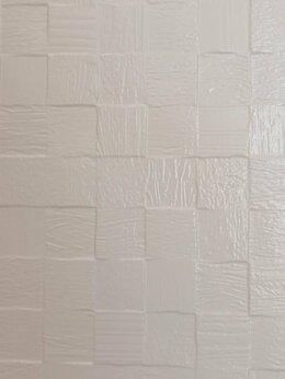 Керамическая плитка - Керамическая плитка 30х90 матовая белая 3D …, 0