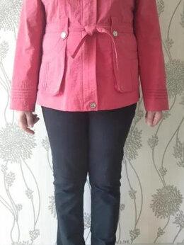 Куртки - Легкая красная курточка раз.48-50, 0