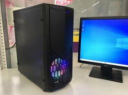 Настольные компьютеры - Intel i7 16л.ядер 16Gb SSD120 HDD500 RX470 4Gb, 0