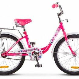 """Велосипеды - Подростковый городской велосипед STELS Pilot 200 Lady 20 Z010 розовый 12"""" рама, 0"""