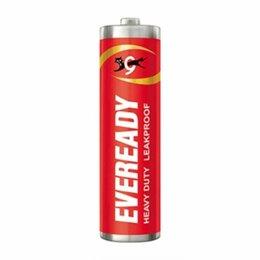 Батарейки - Батарейка Eveready AAA солевая 1 шт, 0