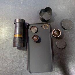 Чехлы - Чехол Apple iPhone 6, 7 со сменными объективами, 0