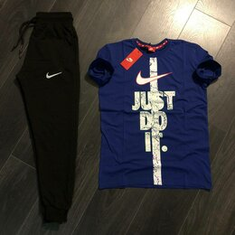 Спортивные костюмы - костюм спортивный nike (футболка и штаны) , 0