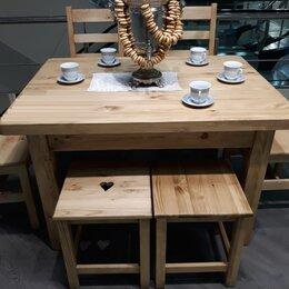 Столы и столики - Стол обеденный массив сосны, 0