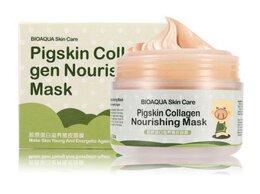 Маски - Маска для лица Bioaqua Pigskin Collagen Nourishing, 0