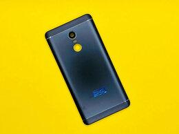 Корпусные детали - Задняя крышка Xiaomi Redmi Note 4X (3/32GB) черная, 0
