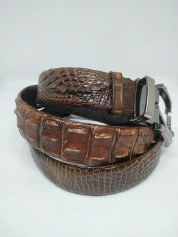 Ремни и пояса - Ремень из крокодиловой кожи, 0
