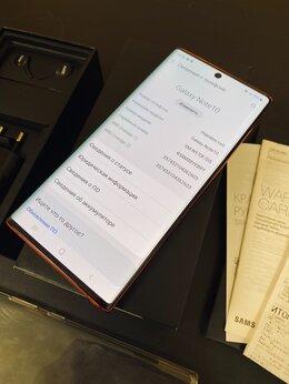 Мобильные телефоны - Samsung Galaxy Note 10 256 Ростест, Гарантия, Чек, 0