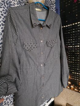 Блузки и кофточки - Блуза-рубашка женская 42-44 размер, 0