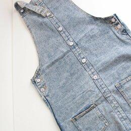Платья - Сарафан джинсовый, 0