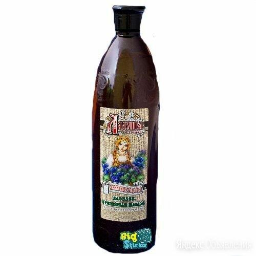 Ладушка Шампунь Василек с репейным маслом 1л/15 по цене 52₽ - Шампуни, фото 0