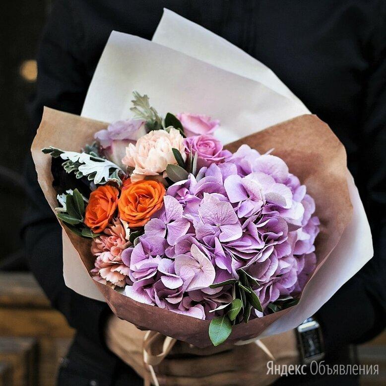 Букет в крафте №173 по цене 2000₽ - Цветы, букеты, композиции, фото 0